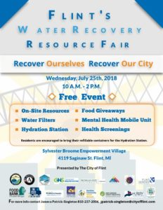 Flint Water Recovery Resource Fair