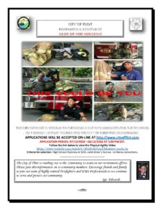 City of Flint Firefighter Recruitment