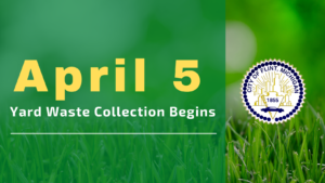 City of Flint yard waste collection begins April 5, 2021