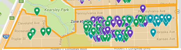 Map of Zone 5